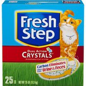 Fresh Step Dual Action Crystals Cat Litter