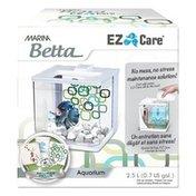 Marina Betta White EZ Care Plus Aquarium Kit