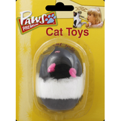 Paws Happy Life Cat Toy, Furry Mouse, with Movement