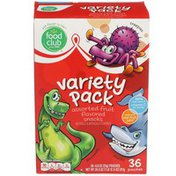 Food Club Assorted Fruit Flavored Snacks Variety Pack