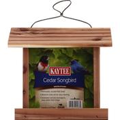 Kaytee Feeder, Wild Bird, Cedar Songbird