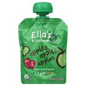 Ella's Kitchen Puree, Super Smooth, Apples Apples Apples, 1 (from 4 Months)