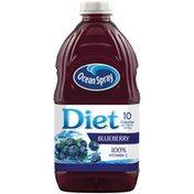 Ocean Spray Blueberry--Bleuet Low Calorie Beverage--Boisson Hypocalorique