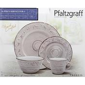 Pfaltzgraff Dinnerware Set, Trellis, 16 Piece