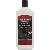 Weiman Cleaner & Polish, Glass Cook Top, Heavy Duty