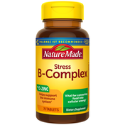 Nature Made Stress B-Complex with Vitamin C & Zinc, Tablets