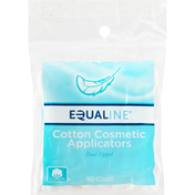 Equaline Cotton Cosmetic Applicators, Dual Tipped