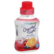 Soda Stream Drink Mix, Sparkling, Crystal Light, Fruit Punch