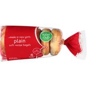 Food Club Plain Bagels
