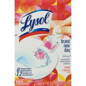 Lysol Automatic Toilet Bowl Cleaner, Mango & Hibiscus Scent