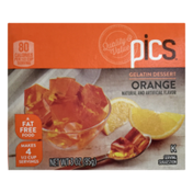 PICS Orange Gelatin