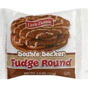 Little Debbie Cookie, Fudge Round, Double Decker