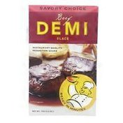 Savory Choice Beef Demi Glace