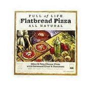Full Of Life Flatbread Olive & Feta Cheese Frozen Pizza With Cornmeal Crust
