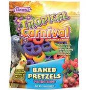 Brown's Tropical Carnival Gourmet Treat Baked Pretzel Sticks Small Animal Treats