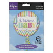 Anagram Standard Foil Balloon Welcome Baby