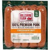 Hillshire Farm Premium Pork Cheddarwurst® Sausage Links, 45 oz.