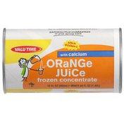 Valu Time Orange Juice Frozen Concentrate With Calcium