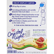 Crystal Light Drink Mix, Raspberry Green Tea