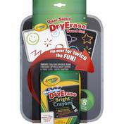Crayola Dry Erase Board Set, Dual-Sided