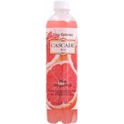 Cascade Ice Sparkling Water, Zero Calories, Pink Grapefruit