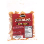 Taylors Cracklins, Hot & Spicy Flavored, Wash Pot Style