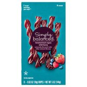 Simply Balanced Fruit Ropes, Twisted, Wild Berry
