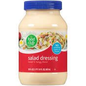 Food Club Sweet & Tangy Flavor Salad Dressing