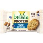 belVita Protein Soft Baked Biscuits, Blueberry Almond Flavor