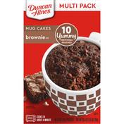 Duncan Hines Mug Cakes, Brownie Mix, Multi Pack, 10 Pack