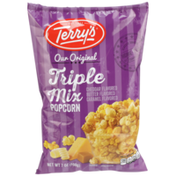 Terry's Triple Mix Cheddar, Butter, Caramel Flavored Popcorn