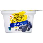 SB Yogurt, Greek, Nonfat, Blueberry