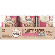 NUTRO Hearty Stews Chunks in Gravy Senior Grandpa's Country Stew with Chicken & Turkey Dog Food