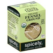 Spicely Fennel, Ground, Organic