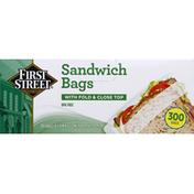 First Street Sandwich Bags