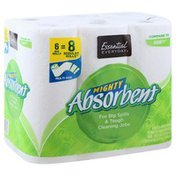 Essential Everyday Paper Towel, Big Rolls, Multi-Size, 2-Ply