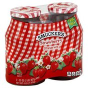 Smucker's Preserves, Strawberry, Twin Pack