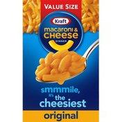 Kraft Original Macaroni & Cheese Dinner Value Size