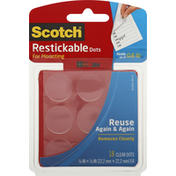 Scotch Restickable Dots, for Mounting