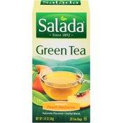 Salada Green Tea Peach Nectarine Immunity Tea Bags