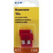 Bussmann Blade Fuses, ATC, 10A