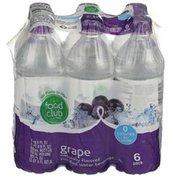 Food Club Purified Grape Flavored Water