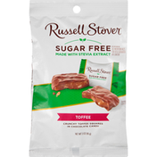 Russell Stover Chocolate Candy, Sugar Free, Toffee