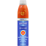 Equaline Sunscreen, Continuous Spray, SPF 50