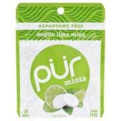 Pur Mints, Sugar Free, Mojito Lime Mint