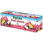 Tropicana Fruit Punch Juice Beverage