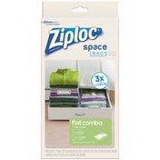 Ziploc Space Bag Combo Vacuum Seal Bags