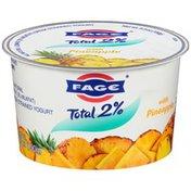 FAGE Total 2% with Pineapple Lowfat Greek Strained Yogurt