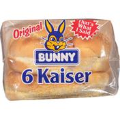 Bunny Bread Original Kaiser Buns