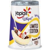 Yoplait Whips! Banana Split Flavored Limited Edition Lowfat Yogurt Mousse